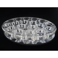 Buy cheap Oval-shaped 18 Round Holes Transparent Wine Rack Drinking Glass Stand product