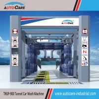 Buy cheap Automatic belt conveyor car wash machine/ Automated tunnel car washer with nine brushes product