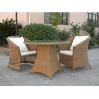 Buy cheap Outdoor Rattan Furniture Sofa Chair Set For Garden / Patio Brown product