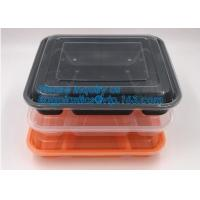 Buy cheap White Round Plastic PP Food container bento box heated disposable microwave lunch box,food bento storoage box bagease pa product