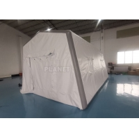 Buy cheap 0.6mm PVC Air Sealed Inflatable Hospital Tent For Quick Rescue product