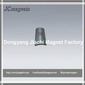 Buy cheap NdfeB Arc-segment magnet for motor product
