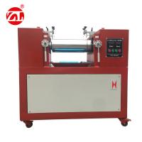 China Electronic Heating Rubber Plastic Laboratory Two Roll Open Mill For PE PP PVC EVA ABS on sale