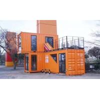 Buy cheap Factory Supply prefab shipping container house for sale , rockwool sandwich panal from wholesalers