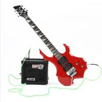 Quality flame electric guitar, double wave electric guitar for sale
