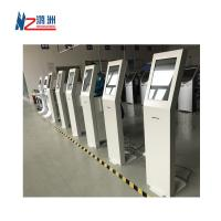 Buy cheap White Coated Ticket Vending Kiosk 19