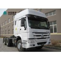 Buy cheap SINOTRUK HOWO 371HP 6x4 10 Tyre With Double Bunkers Prime Mover Truck from wholesalers