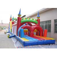 Buy cheap Funny Sport Games Adult Inflatable Obstacle Course Challenge Bounce House product