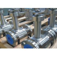 China Flanged Ends Floating Type Ball Valve , Electric Actuated Ball Valve on sale