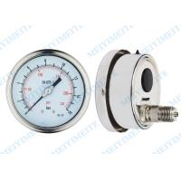 Cheap 100mm Welding pressure gauge thermometers with Tempered Glass , PC lens wholesale
