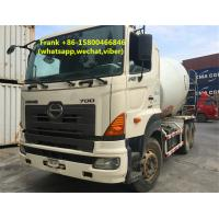 Buy cheap 8 CBM Hino Used Concrete Mixer Trucks 25000 Kg Rated Load Manual Transmission product