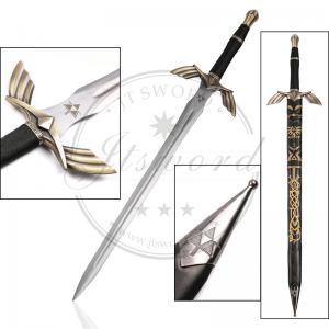 China 50 Video Game Replica Swords Legend Of Zelda Black Skyward Master Sword on sale