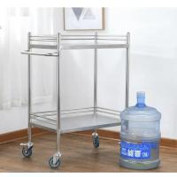 Buy cheap Two Or Three Layers Medical Laboratory Furniture Clinic Medication Trolley product