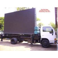 Buy cheap Aluminum or Iron Full Color Led Mobile Billboard on Vehicles P10 1R1G1B IP65 220V / 50Hz product
