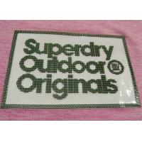 China Soft 3D Silicon Raised  Heat Transfer Clothing Labels Iron On Tags Special Technical on sale