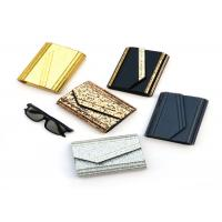 China Fashion Ladies Envelope Clutch Bag , Small Size Black And Gold Clutch Bag on sale
