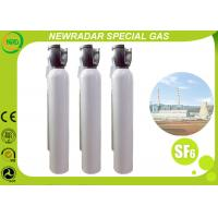 Buy cheap Non Flammable Compressed Gas Sulfur Hexafluoride Gas Electronic Grade product