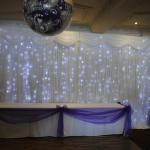 Buy cheap Sky light drape led light black curtain led stage backdrop cloth product
