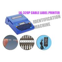 Buy cheap DC 12V 2A cable label printer Automatic half - cutting lasting wire label machine product