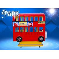 Buy cheap Amusement Park Equipment 3 Seat London Bus Kiddy Ride Game Machine from wholesalers