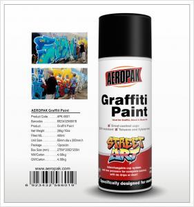 Buy cheap Aeropak  aerosol can 450ml 10oz Graffiti spray paint with all colors product
