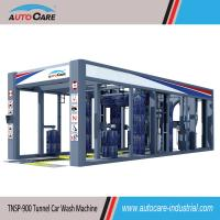 Buy cheap Fully automatic tunnel car washing machine with stainless frame/ Automated car washer with nine brushes product