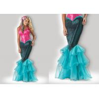 Buy cheap Mermaid 1033 Pink Halloween Adult Costumes , Greek Goddess Dressadult Halloween Costumes product