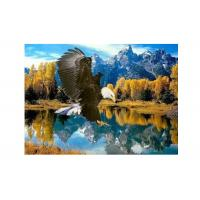 Buy cheap High Definition 3D Lenticular Pictures Stock PET Pictures Offset Printing product