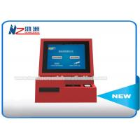 Quality High Brightness Wall Mount Kiosk Card Payment Machine 3G Wireless Internet Connection for sale