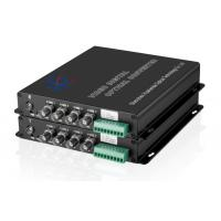 Buy cheap video to fiber converter 4-Ch Video & 1-Ch data RS485/232/422 product