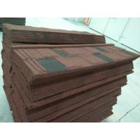 Buy cheap Stone Coated Metal Roof Tile / Aluminium Zinc Roofing Shingle / Colorful Sand Coated Steel Roof product