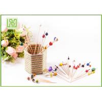 Buy cheap Disposable Wooden Heart Toothpicks Novelty Cocktail Sticks 10000pcs Per Carton product