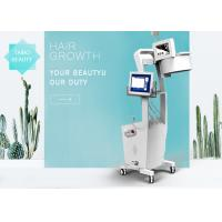 Buy cheap Vertical Laser Hair Growth Equipment For Both Men And Women Effective And Painless product