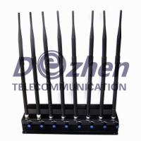 Buy cheap 8 Bands Adjustable Powerful 3G 4G Cellphone Jammer & UHF VHF GPS WiFi Jammer product
