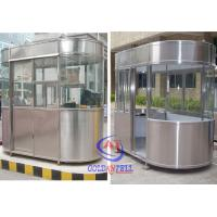 Buy cheap Outdoor Fibreglass Ticket Security Guard Booths / Mobile guard house product