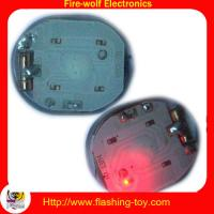 Buy cheap Mini LED ligth Waterproof PVC flashing Led shoe light on shoe / T-shirt / Bag from wholesalers
