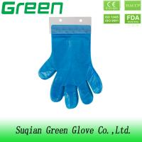China Outside Inside CPE Gloves FDA CE ISO Approved Against Ultra Violet Light Sources on sale
