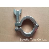 Buy cheap TP304 ASTM A270 Sanitary Valves And Fittings Stainless Steel Single Pin Heavy Duty Clamp product
