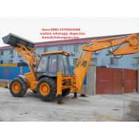 Buy cheap JCB 4cx Used Backhoe Loader , Backhoe Wheel Loader 7920 * 3050 * 3400 Mm product
