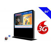 Buy cheap Full HD 3G Digital Signage Free Standing Kiosk Android Advertising Media Player product