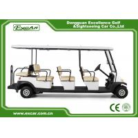 China EXCAR Electric Golf Buggy With Trojan Acid Battery / Curtis Controller on sale