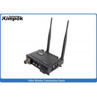 Buy cheap 2x2 MIMO Mobile IP MESH Video Voice Data Network Wireless Communication Systems for IP Camera product
