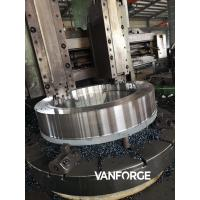 Buy cheap SS Alloy Steel Open Die Forgings Seamless Rolled Ring , Rolled Steel Rings product