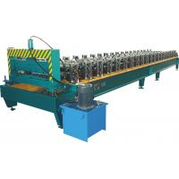 Buy cheap High Speed Roof Panel Roll Forming Machine With Chain Drive PLC Control product