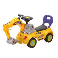 """Buy cheap 40 """" Push Kids Ride On Toys , Toddler Construction Sliding Car With Music product"""