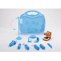 Buy cheap 12 Pcs Toddler Pet Doctor Role Play Set , Pretend Toy Medical Bag Non Toxic product