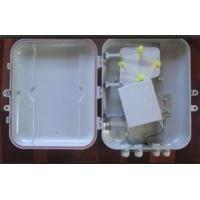 China Plastic optical fiber cable distribution box with PLC splitter on sale