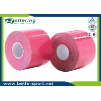 Buy cheap Kinesiology Tape Kinesio Tape 5cm x 5m Waterproof Pure Cotton,Sports Safety Muscle Tape Pink Colour product
