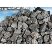 Buy cheap Sub White Aluminum Oxide 0-1MM 1-3MM For Castable Refratory Raw Materials Gray Color product
