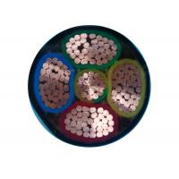 Buy cheap Low Voltage Power Cable Distribution cables 0.6/1 kV PVC Insulation PVC Sheathed 5 Core Unarmoured and armoured product